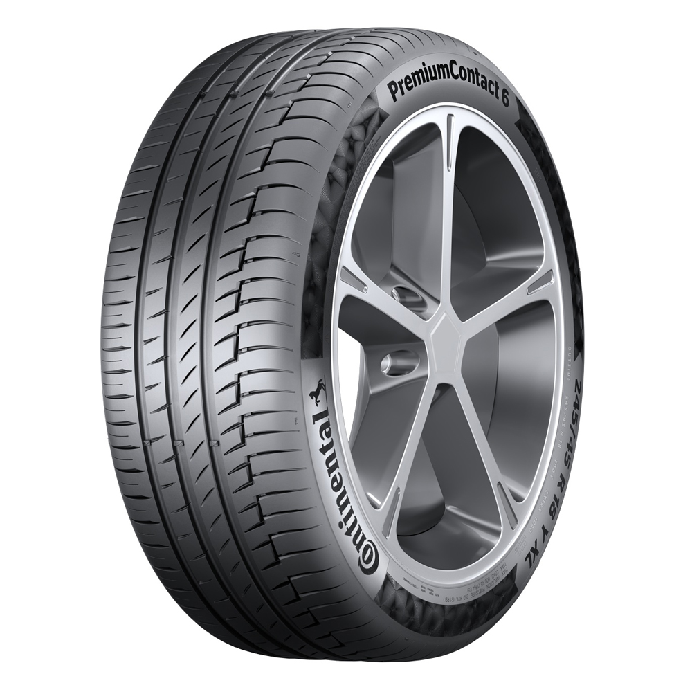 Continental Tires ContiPremiumContact 6 Passenger Summer Tire - 315/30R22XL 104Y