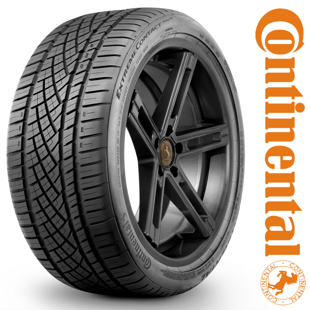 Continental Tires ExtremeContact DWS06 Passenger All Season Tire - 295/25R22XL 97Y