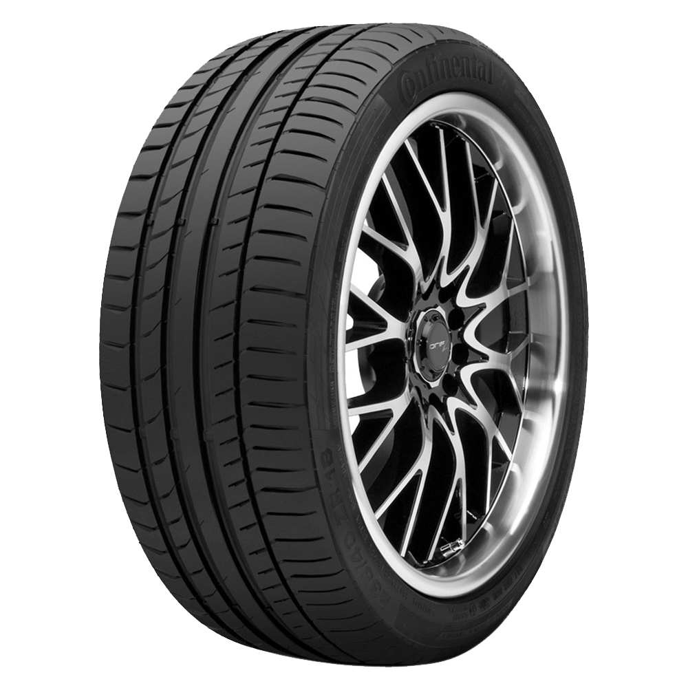 Continental Tires ContiSportContact 5 Passenger Summer Tire - 255/40R21XL 102Y