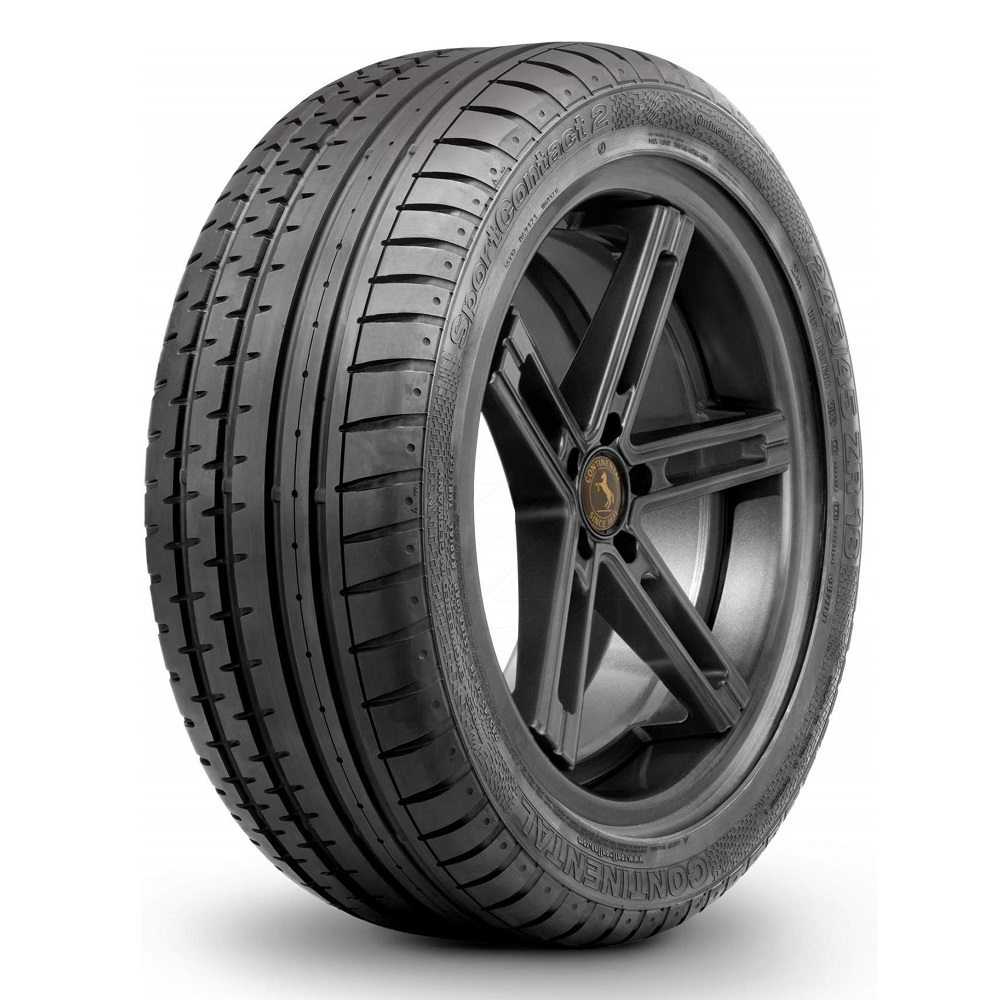 Continental Tires ContiSportContact 2 Passenger Summer Tire - 275/45R18 103Y