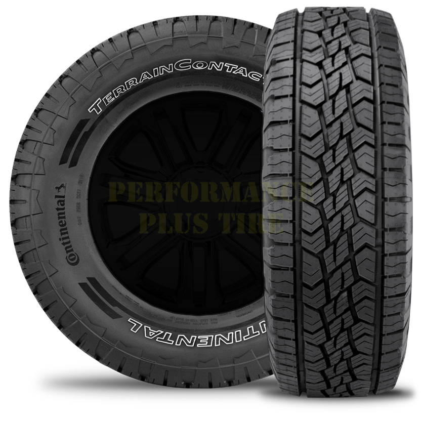 Continental Tires Terrain Contact A/T Light Truck/SUV Highway All Season Tire - 255/75R17 115S