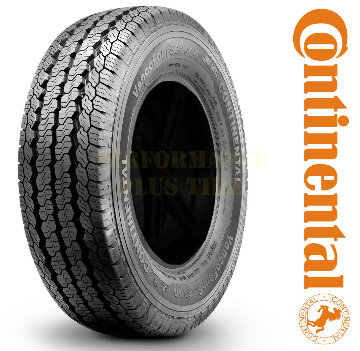 Continental Tires VancoFourSeason Passenger All Season Tire - LT205/75R16 110/108R 8 Ply