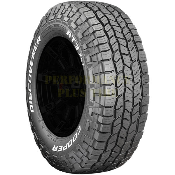Cooper Tires Discoverer AT3 XLT Light Truck/SUV Highway All Season Tire - LT295/75R16 128/125R 10 Ply