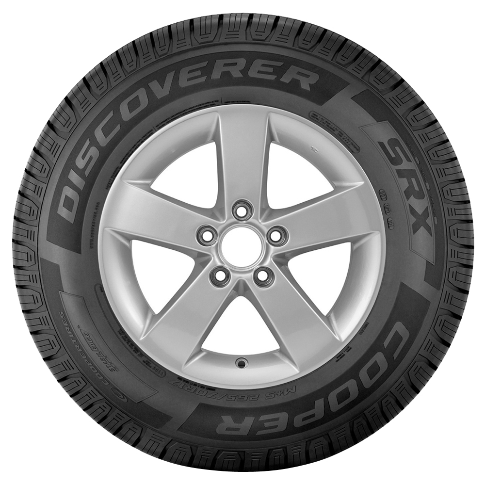 Cooper Tires Discoverer SRX Passenger All Season Tire - 255/75R17 115S