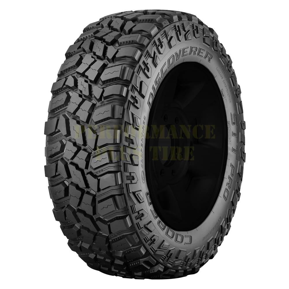 Cooper Tires Discoverer STT Pro Light Truck/SUV Highway All Season Tire - 37x13.50R17LT 121Q 10 Ply