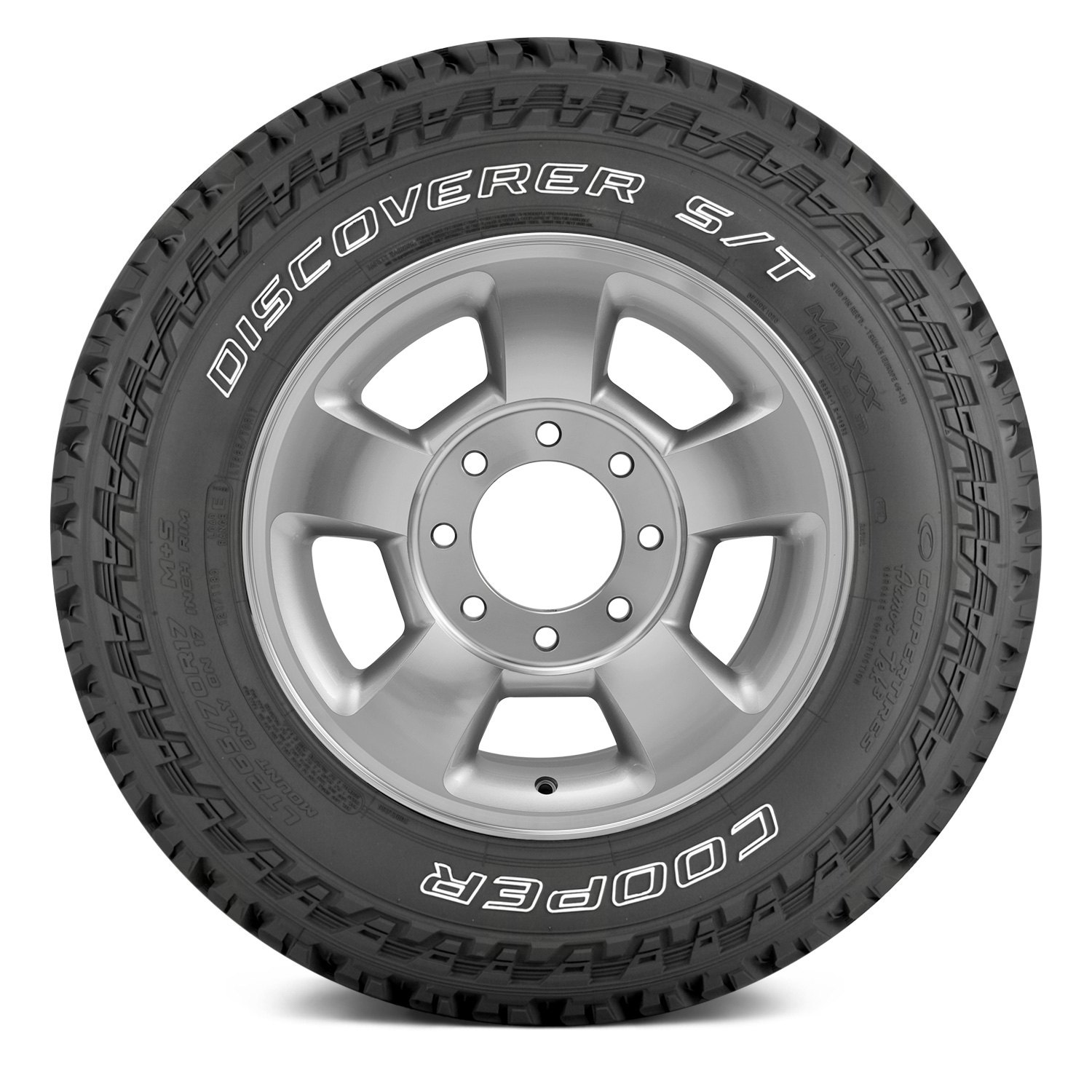 Cooper Tires Discoverer S/T Maxx - LT255/75R17 111/108Q 6 Ply