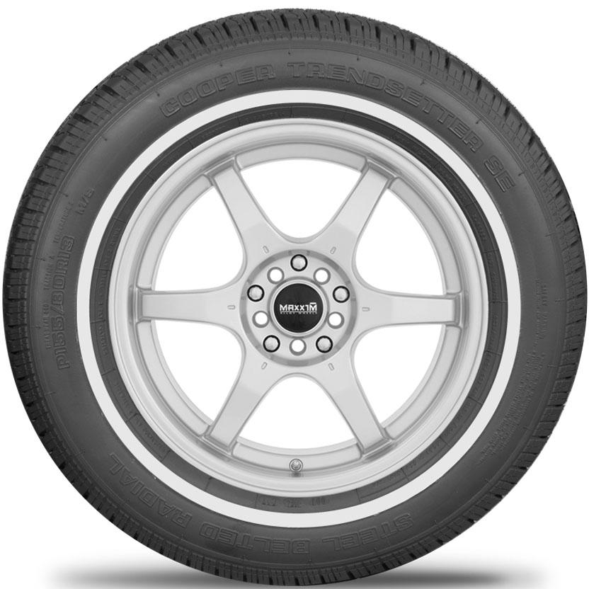 Cooper Tires Trendsetter SE Passenger All Season Tire - P205/75R15 97S