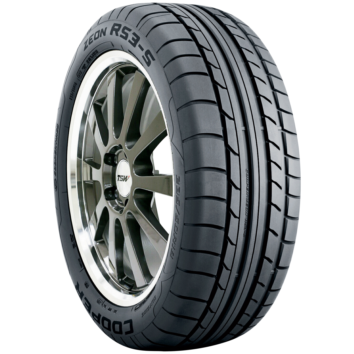 Cooper Tires Zeon RS3-S Passenger All Season Tire - P325/30R19XL 105Y
