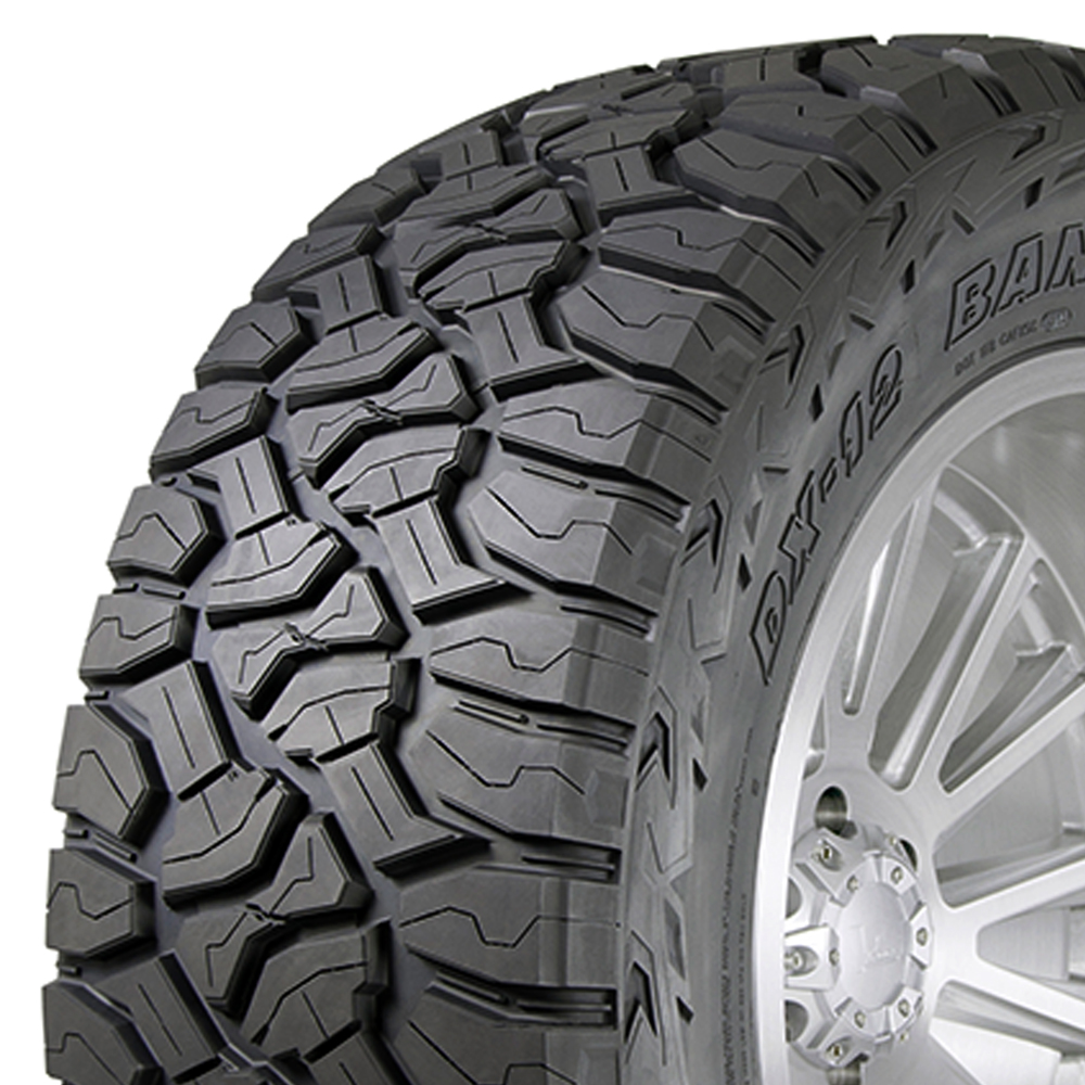 Delinte Tires DX12 Bandit R/T Light Truck/SUV All Terrain/Mud Terrain Hybrid Tire