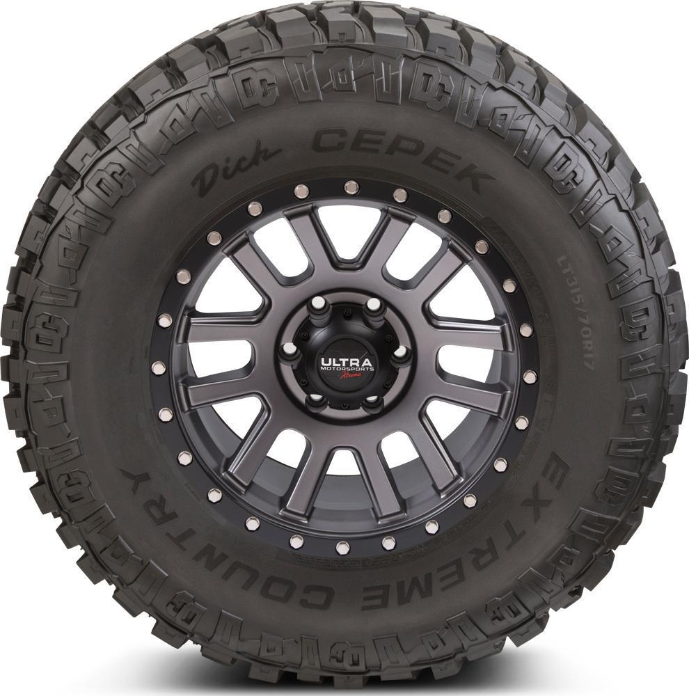 Dick Cepek Tires Extreme Country - 37x12.50R17LT 124P 8 Ply