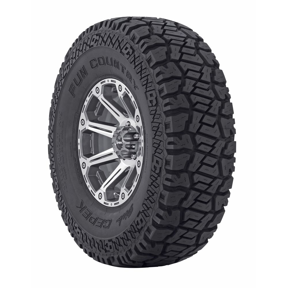 Fun Country - LT305/65R17 121/118QQ 10 Ply