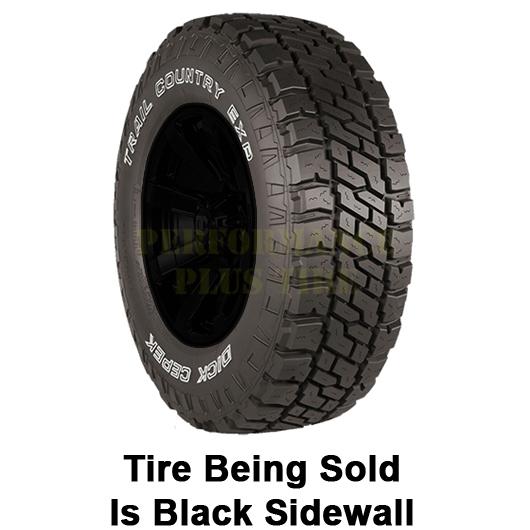 Dick Cepek Tires Trail Country EXP Light Truck/SUV All Terrain/Mud Terrain Hybrid Tire - LT265/60R18 119/116Q 10 Ply
