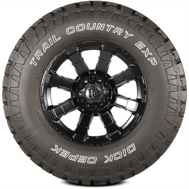 Dick Cepek Tires Trail Country EXP Light Truck/SUV All Terrain/Mud Terrain Hybrid Tire