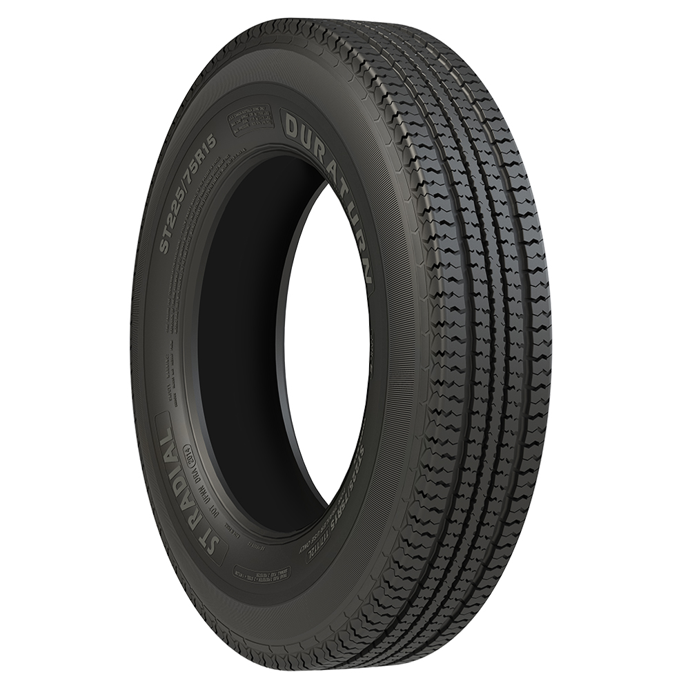 Duraturn Tires ST Radial Trailer Tire - ST225/75R15 117/112L 10 Ply
