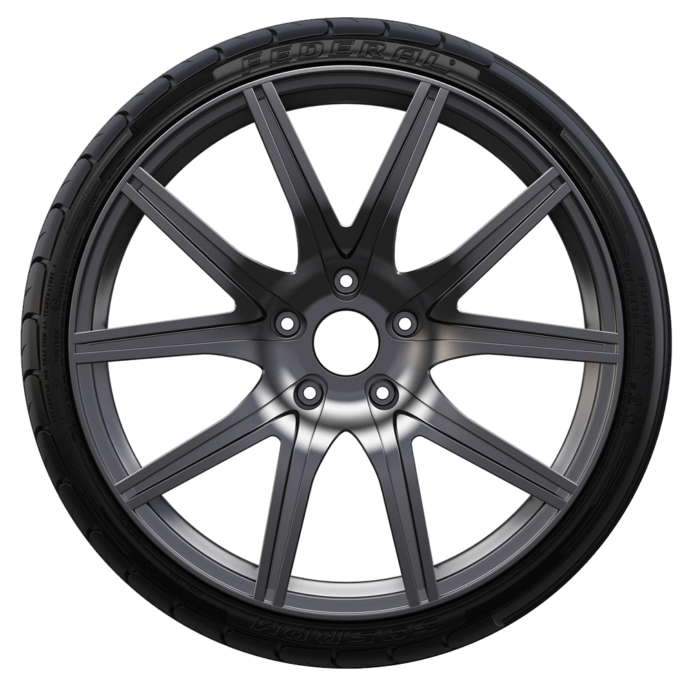 Federal Tires 595 RPM Passenger Summer Tire - 335/30ZR20XL 104Y