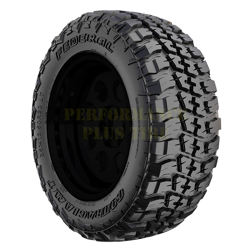 Federal Tires Couragia M/T Tire - 37x12.50R18LT 123Q 10 Ply