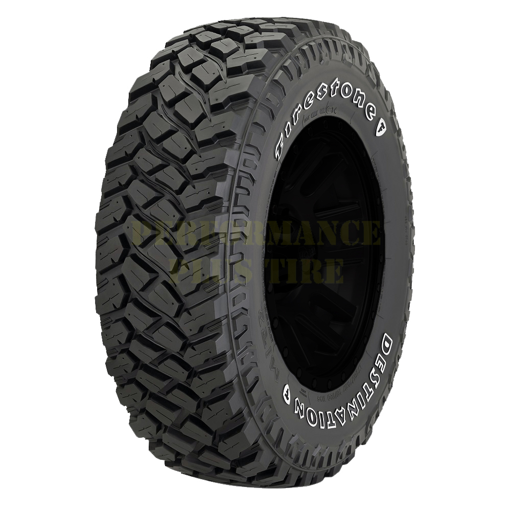 Firestone Tires Destination M/T2 Light Truck/SUV Mud Terrain Tire - LT255/75R17 111Q 6 Ply