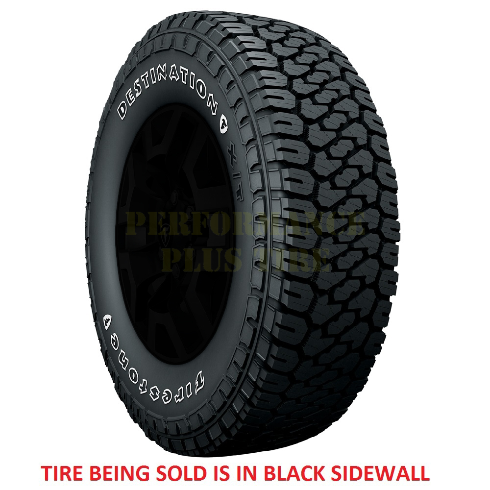 Firestone Tires Destination XT Light Truck/SUV All Terrain/Mud Terrain Hybrid Tire - LT295/60R20 126/123S 10 Ply