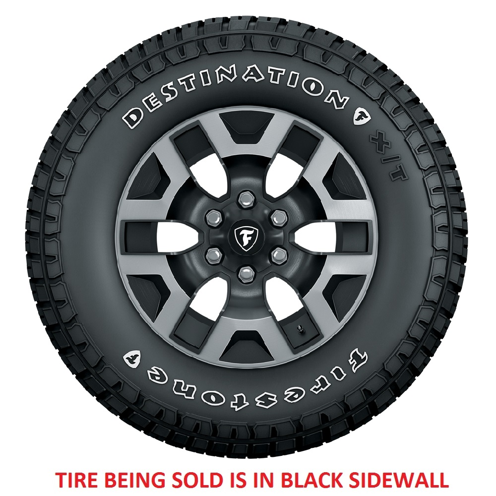 Firestone Tires Destination XT Light Truck/SUV All Terrain/Mud Terrain Hybrid Tire - LT275/70R17 121/118R 10 Ply