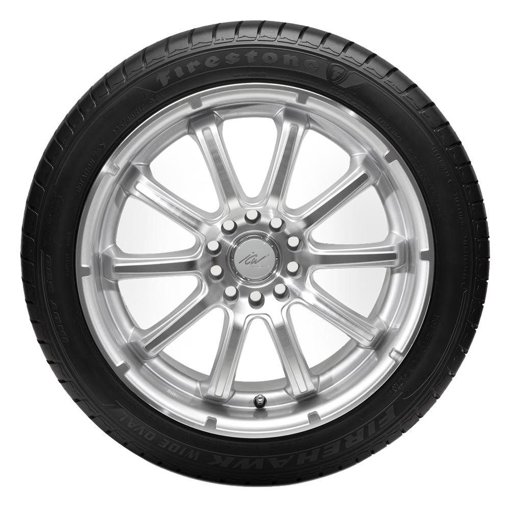 Firestone Tires Firehawk Wide Oval Indy 500 Passenger Summer Tire - 255/45R17 98W