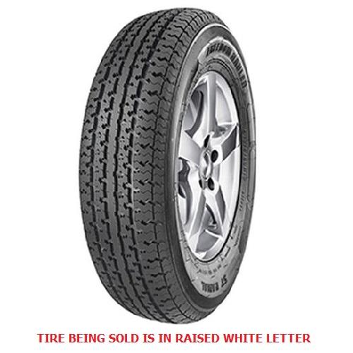 Freedom Hauler Tires ST Radial Trailer Tire - ST205/75R15 107/102L 8 Ply