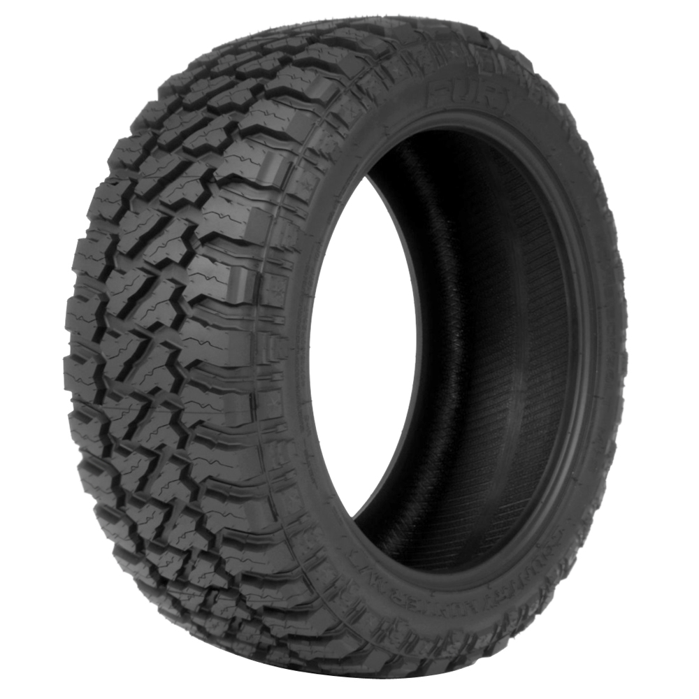 Fury Tires Country Hunter M/T Light Truck/SUV Mud Terrain Tire - 40x13.50R17LT 121Q 6 Ply