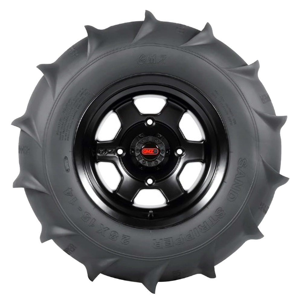 GMZ Race Products Tires Sand Stripper Rear XL HP 14 Paddle ATV/UTV Tire