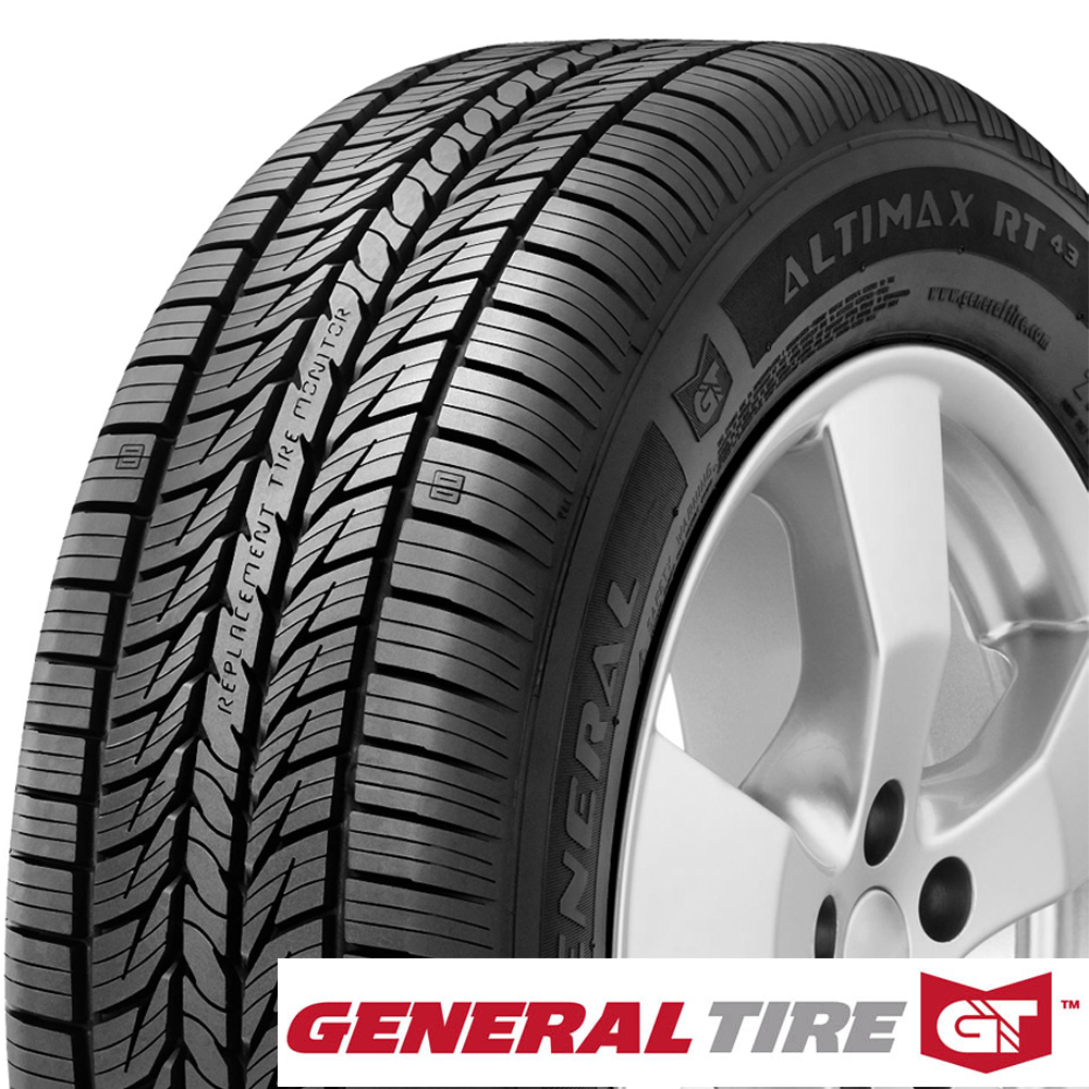 General Tires AltiMax RT43 Passenger All Season Tire - 225/60R15 96H