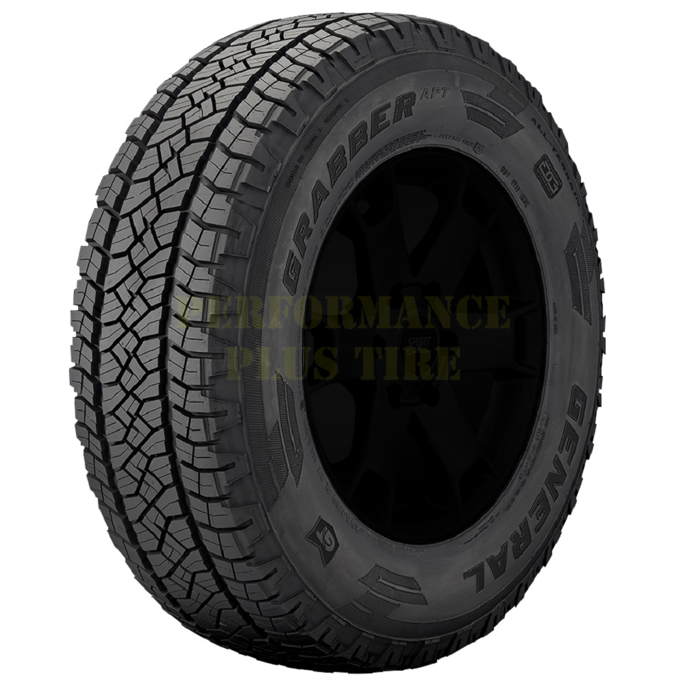 General Tires Grabber APT Light Truck/SUV All Terrain/Mud Terrain Hybrid Tire - 255/75R17 115T