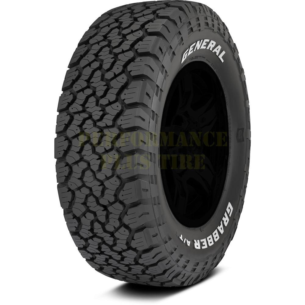 General Tires Grabber A/TX Light Truck/SUV All Terrain/Mud Terrain Hybrid Tire - LT275/70R17 121/118R 10 Ply