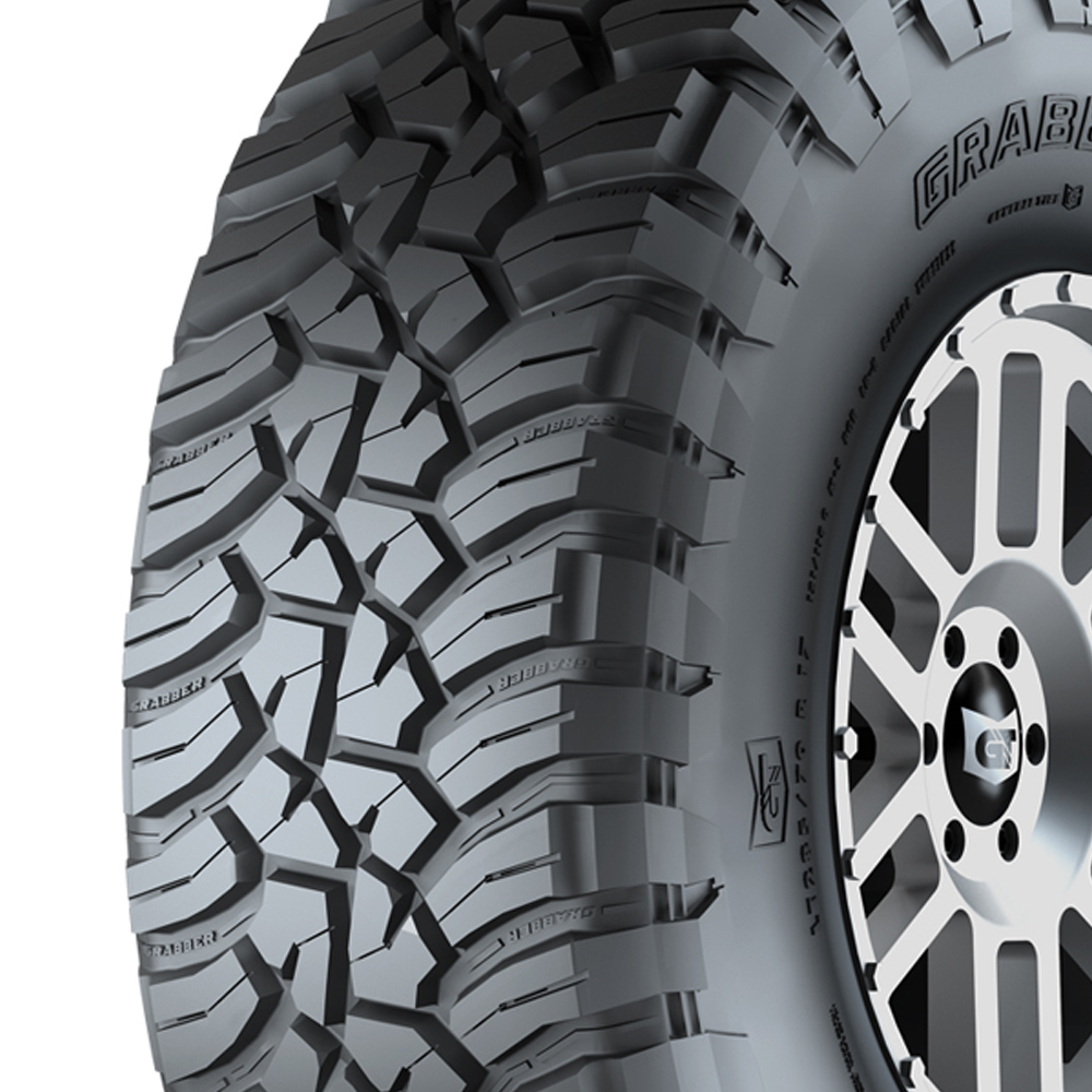 General Tires Grabber X3 - 33x12.5R17LT 114Q 8 Ply
