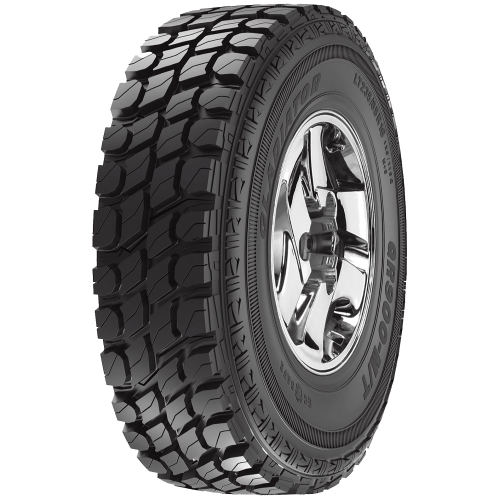 Gladiator Tires QR900-M/T Light Truck/SUV Mud Terrain Tire - 33x12.50R17LT 114Q 8 Ply