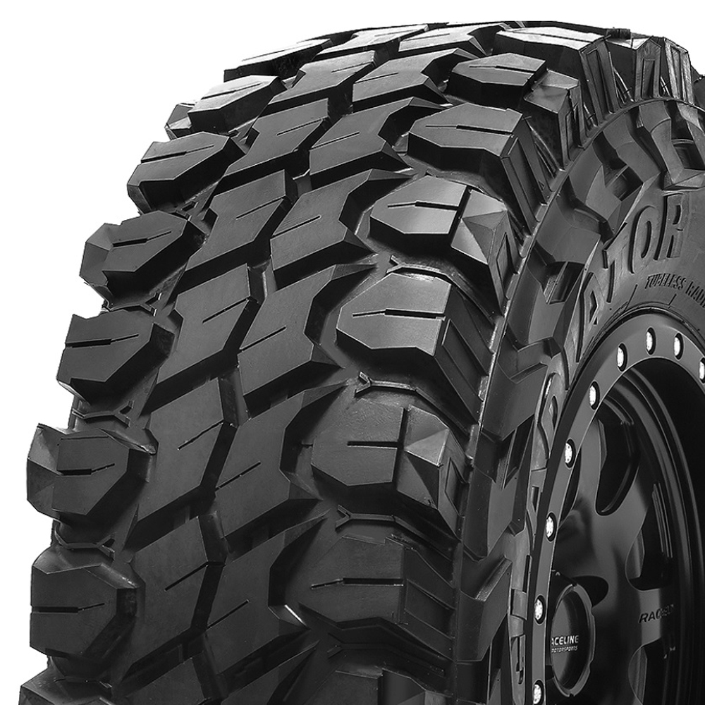 Gladiator Tires X Comp M/T Light Truck/SUV Mud Terrain Tire - 37x13.50R17LT 131Q 10 Ply