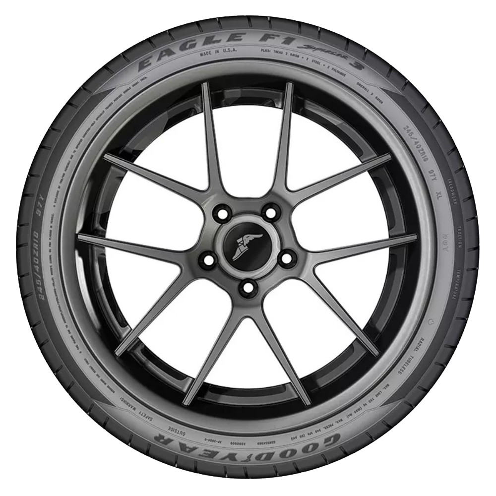 Goodyear Tires Eagle F1 SuperCar 3 Passenger Summer Tire - 325/30ZR19XL 105Y