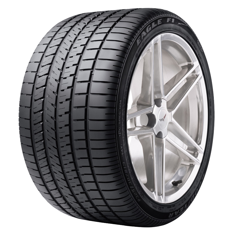 Goodyear Tires Eagle F1 SuperCar EMT RunFlat Passenger Summer Tire - 325/30R19 94Y