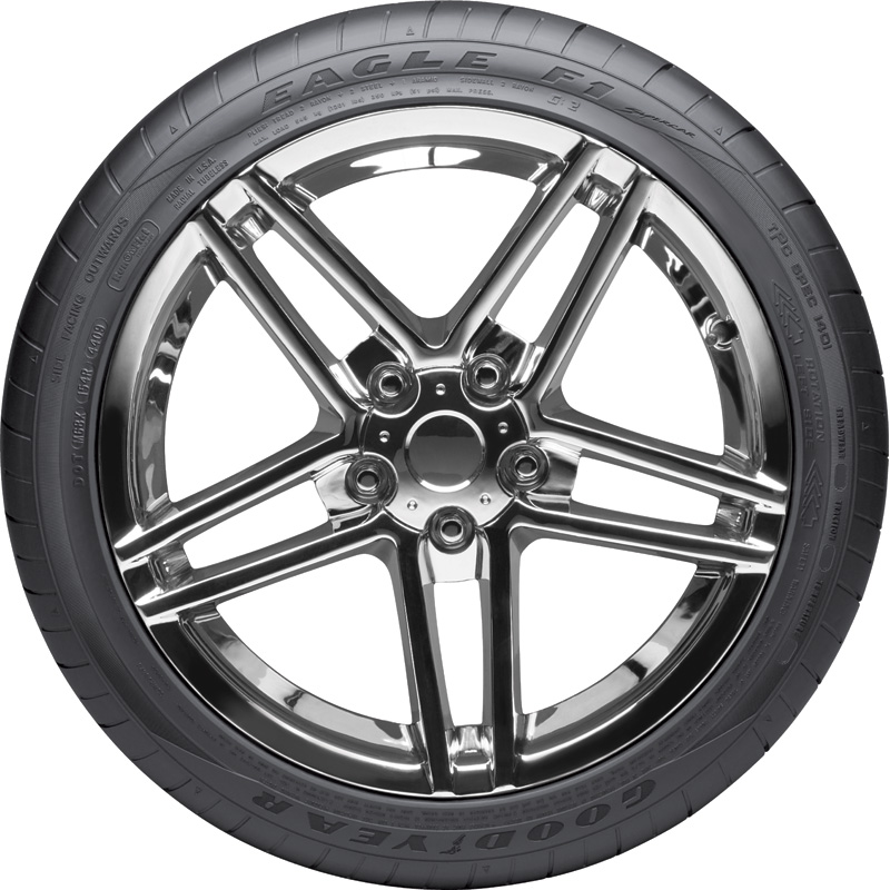 Goodyear Tires Eagle F1 SuperCar G:2 (LEFT) Passenger Summer Tire - 305/35R20 104Y