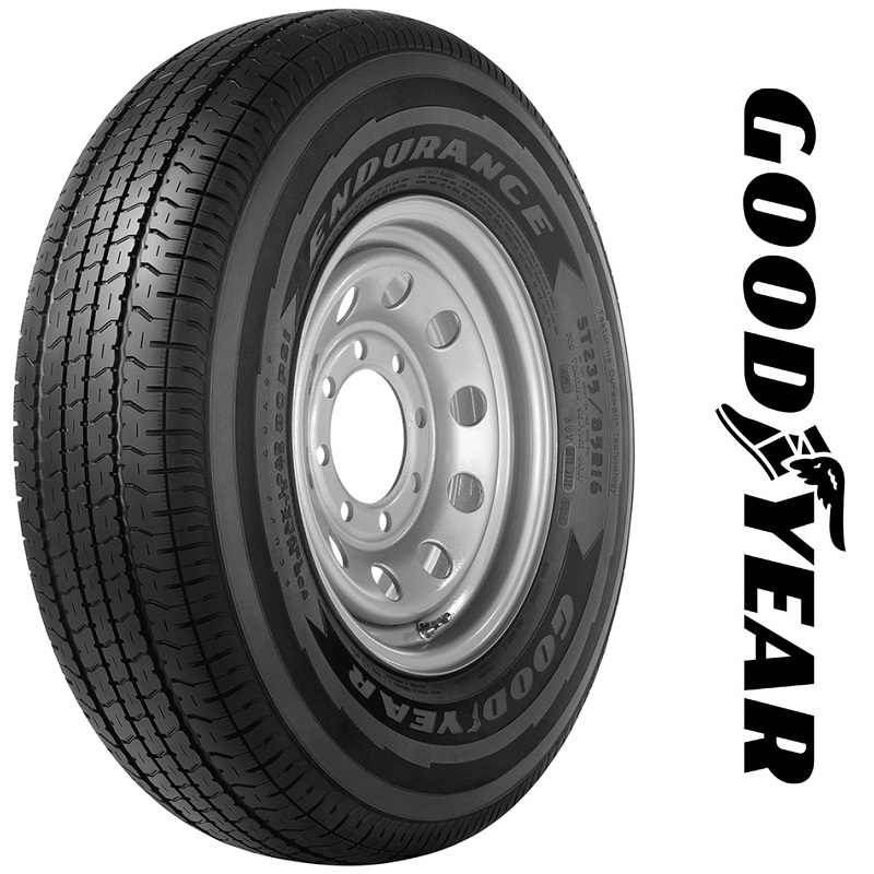 Goodyear Tires Endurance Trailer Tire - ST205/75R14 105N 8 Ply