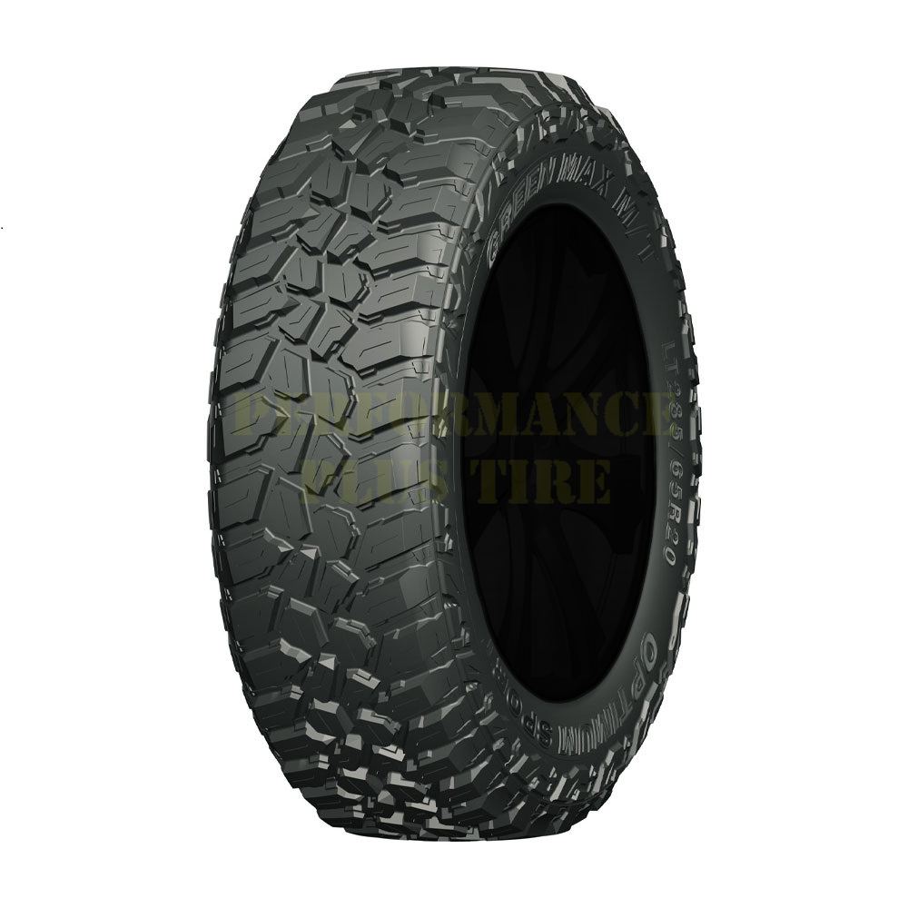 Greenmax Tires Optimum Sport M/T Light Truck/SUV Mud Terrain Tire - 35x12.5R20LT 121Q 10 Ply