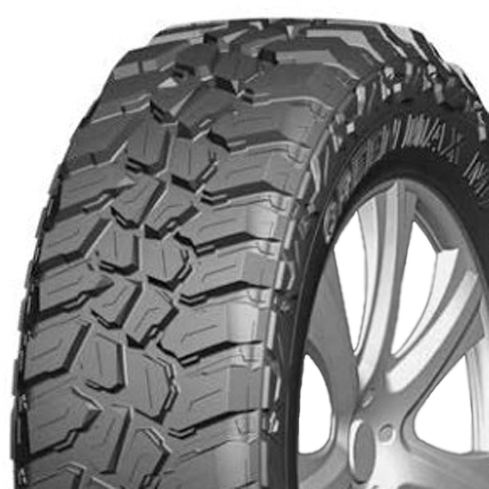 Greenmax Tires Optimum Sport M/T Light Truck/SUV Mud Terrain Tire - 33x12.5R20LT 114Q 10 Ply