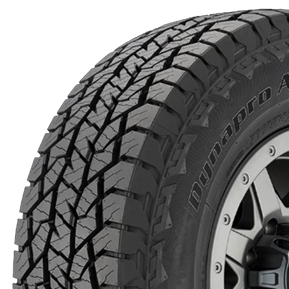 Hankook Tires Dynapro AT2 (RF11) Light Truck/SUV All Terrain/Mud Terrain Hybrid Tire - 35x12.50R18 123S