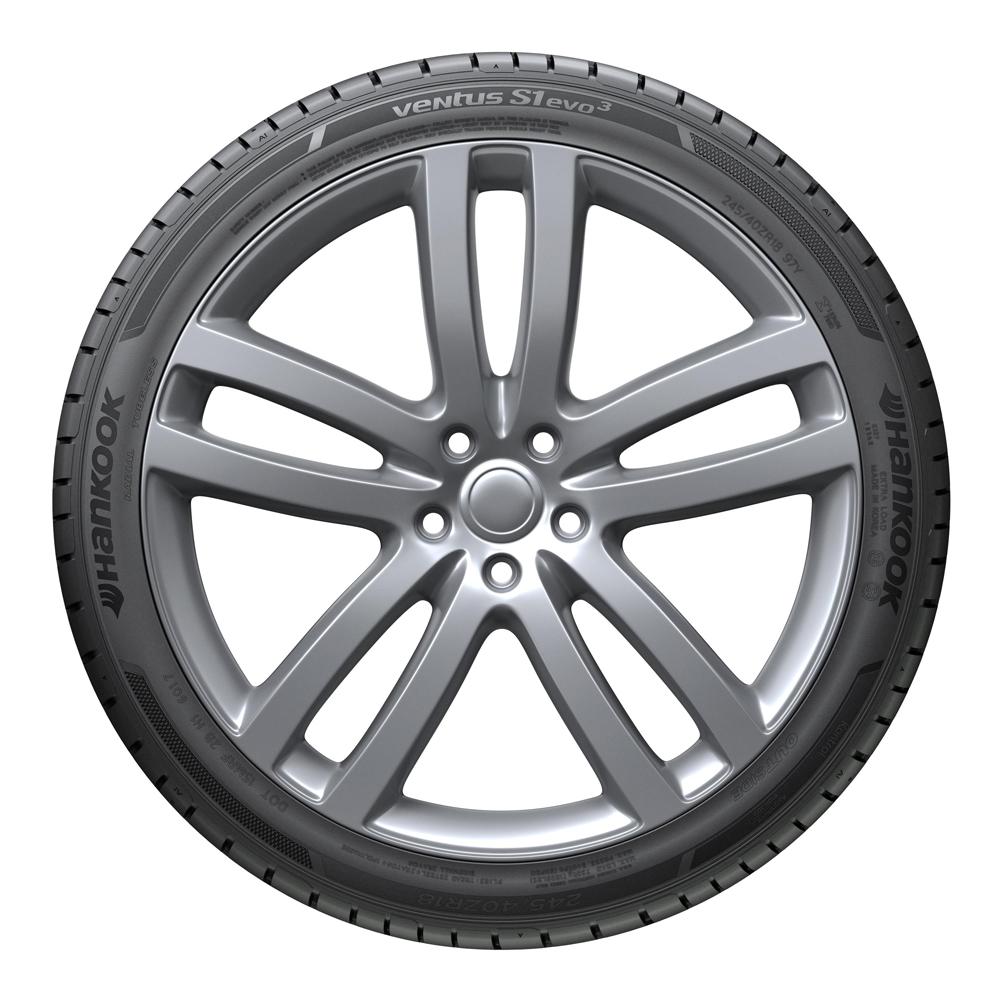 Hankook Tires Ventus S1 evo3 (K127) Passenger Summer Tire - 285/30ZR22XL 101Y