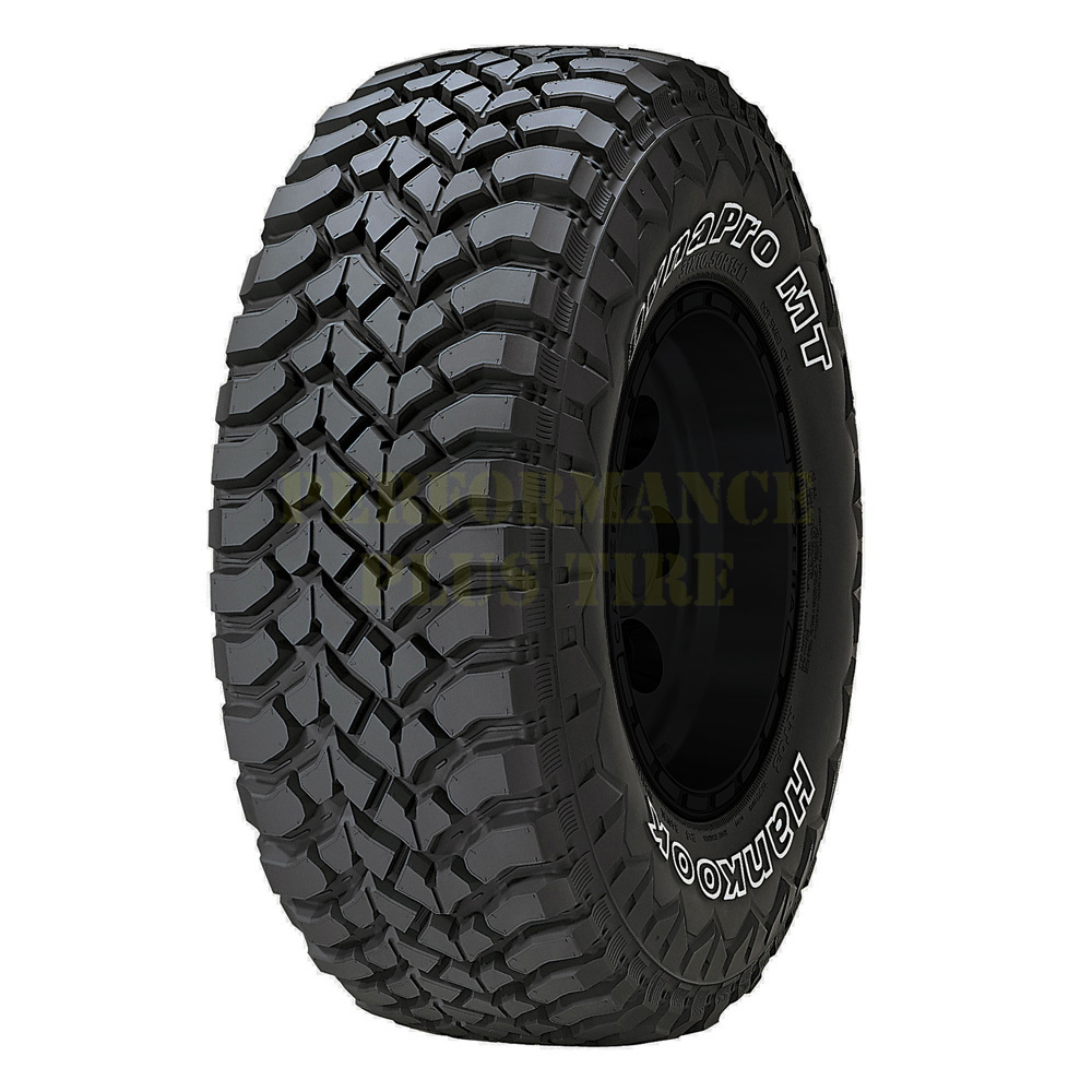 Hankook Tires DynaPro MT (RT03) Light Truck/SUV All Terrain/Mud Terrain Hybrid Tire - LT295/75R16 123/120Q 8 Ply
