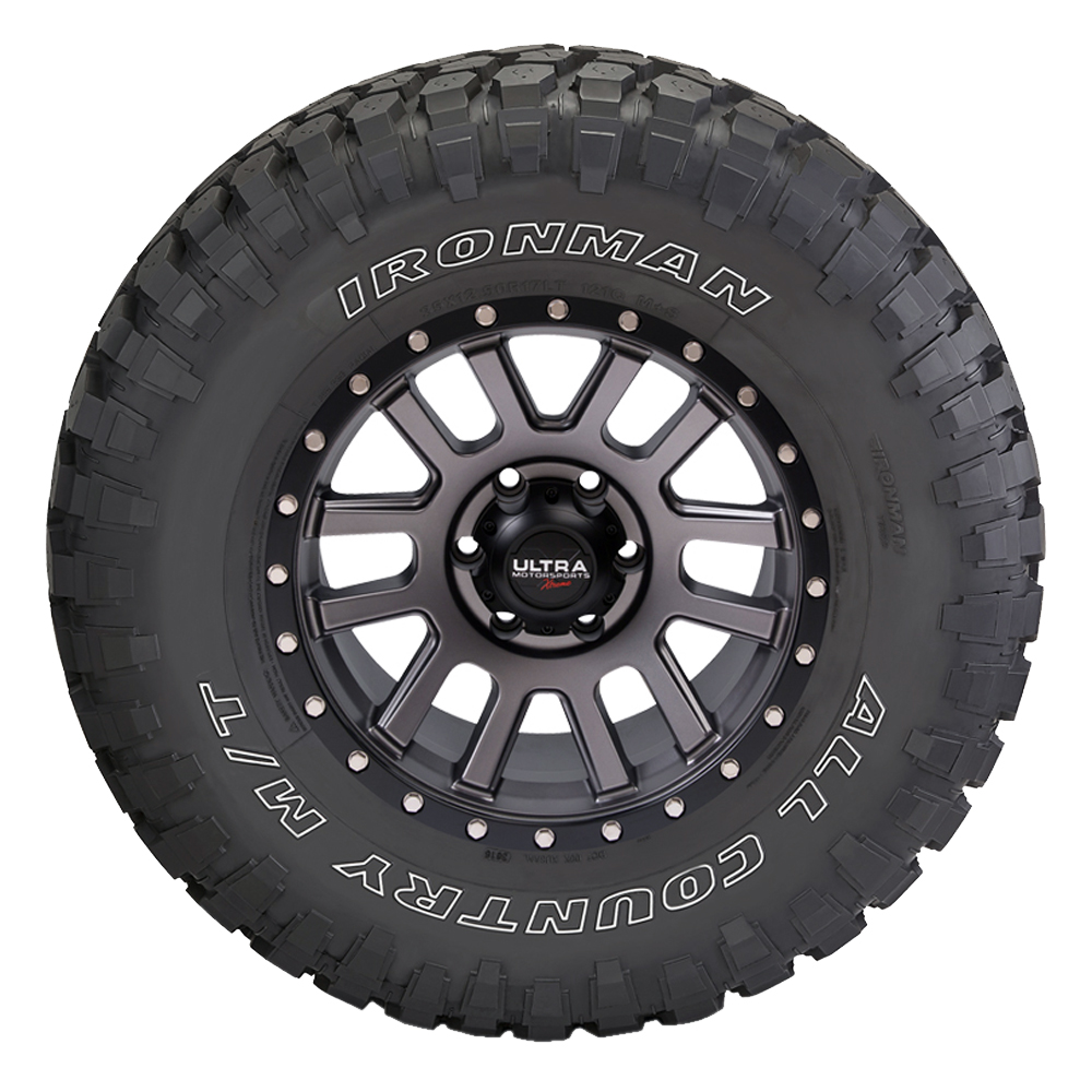 Ironman Tires All Country M/T - 35x12.5R17LT 121Q 10 Ply