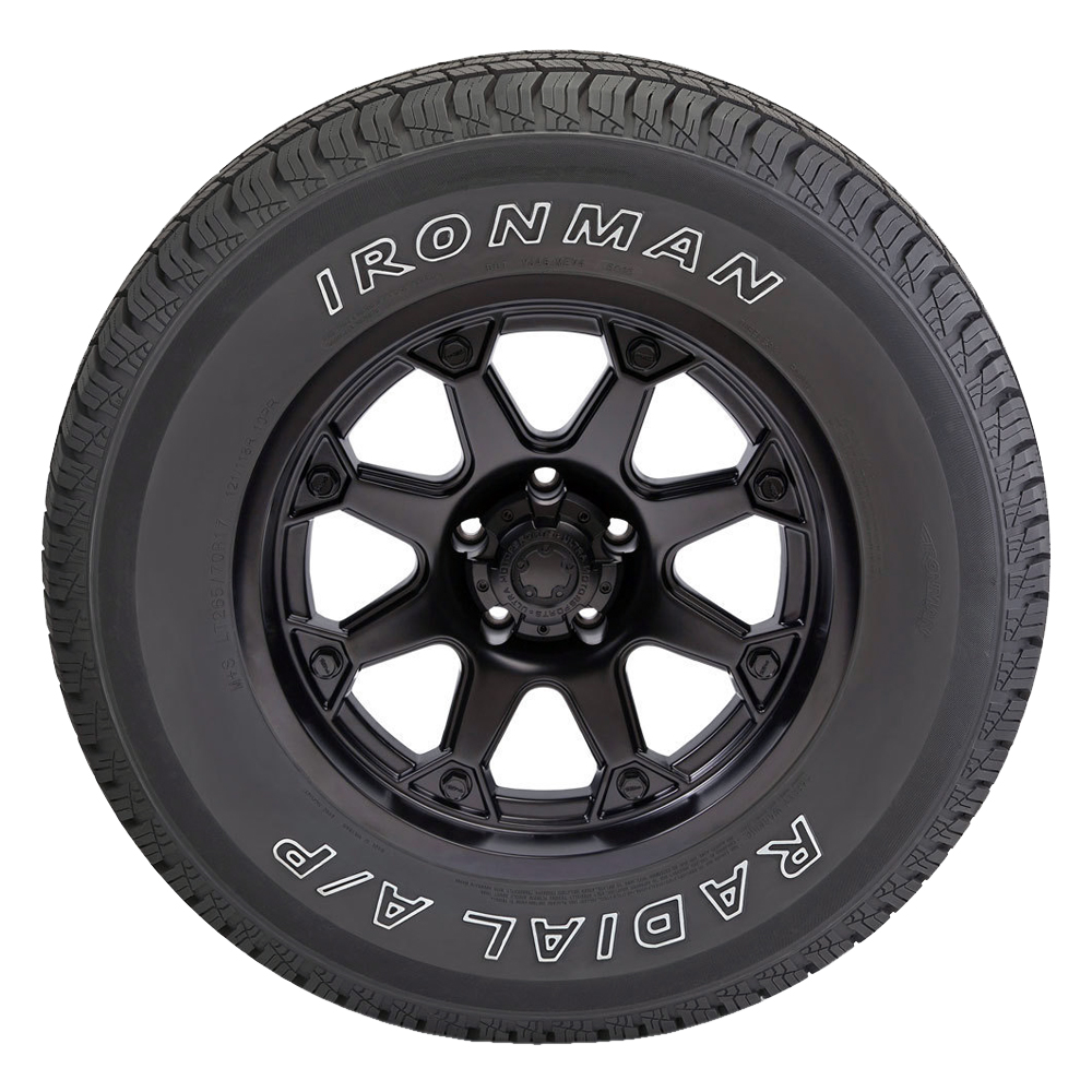 Ironman Radial A  P 265  70r17 115t Owl  Quantity Of 4