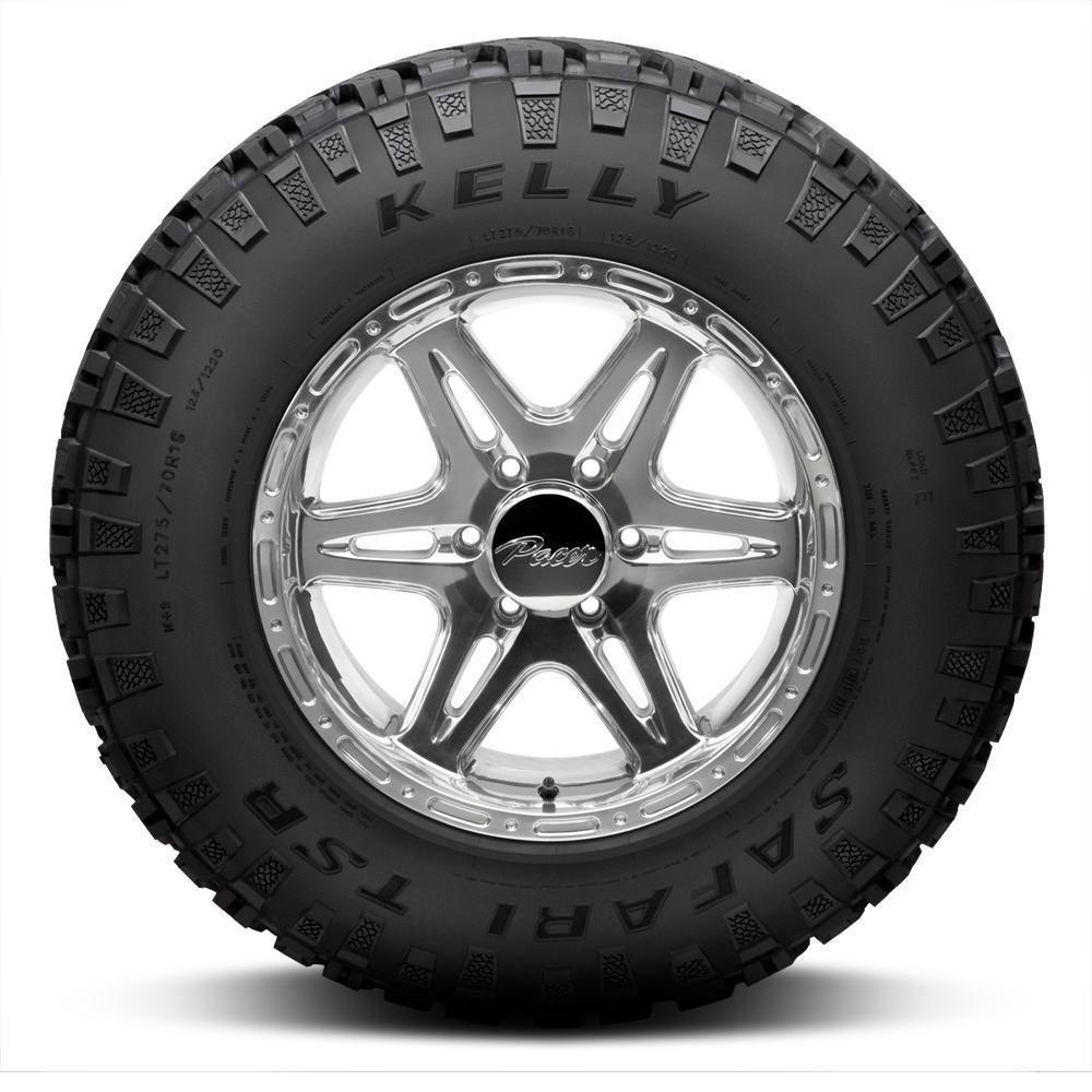 Kelly Tires Safari TSR Light Truck/SUV All Terrain/Mud Terrain Hybrid Tire