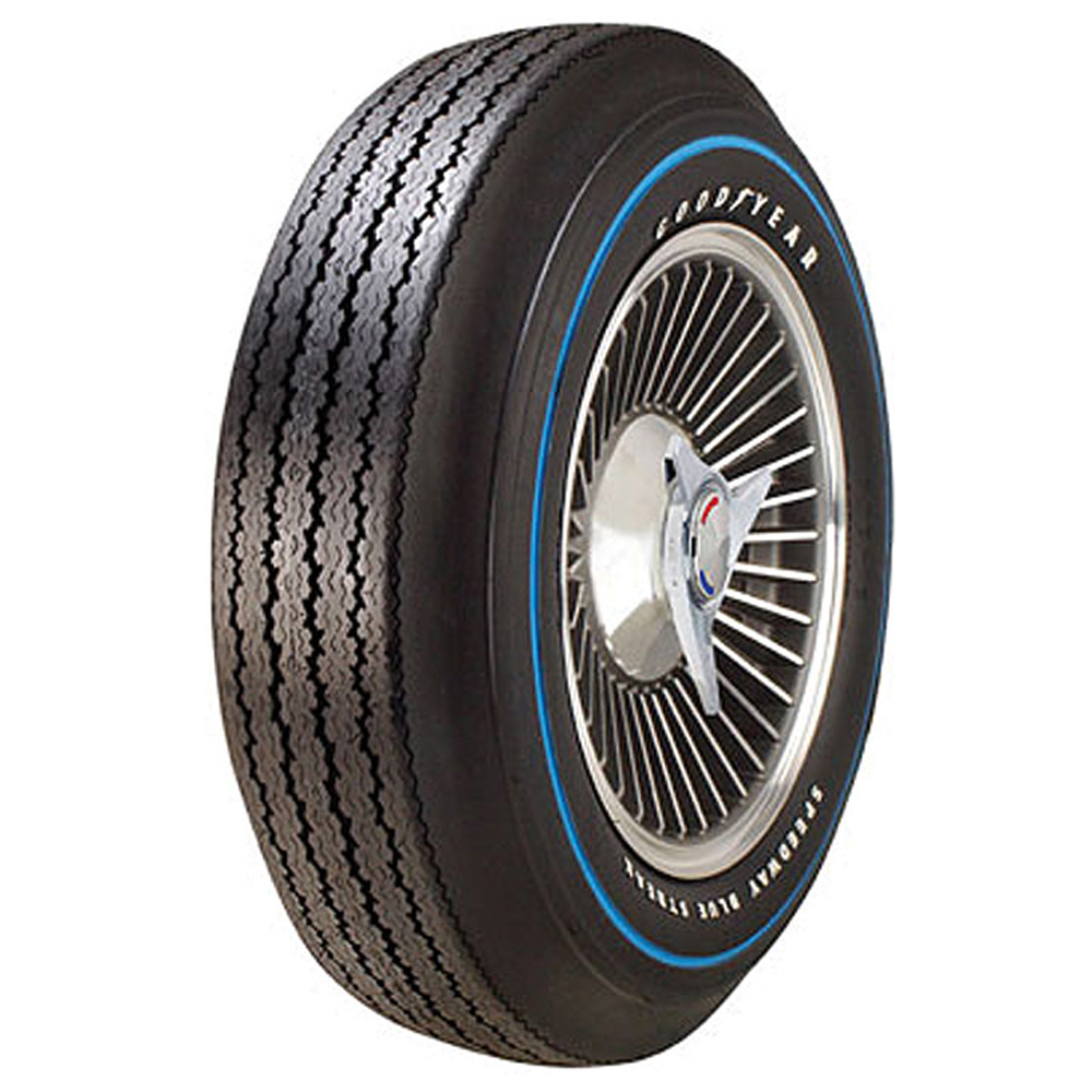 Goodyear Antique Tires Speedway Blue Streak Classic / Vintage / Military Tire