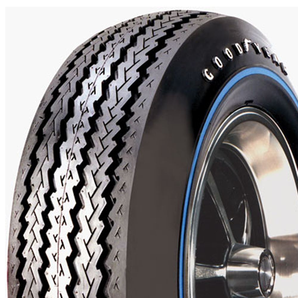 Goodyear Antique Tires Blue Streak Classic / Vintage / Military Tire