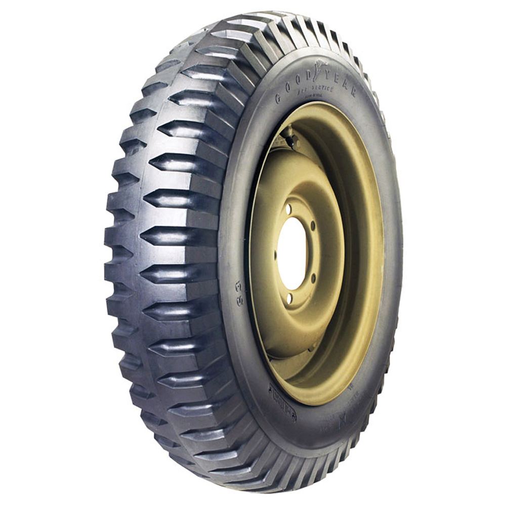 Goodyear Antique Tires NDT Military Tire Classic / Vintage / Military