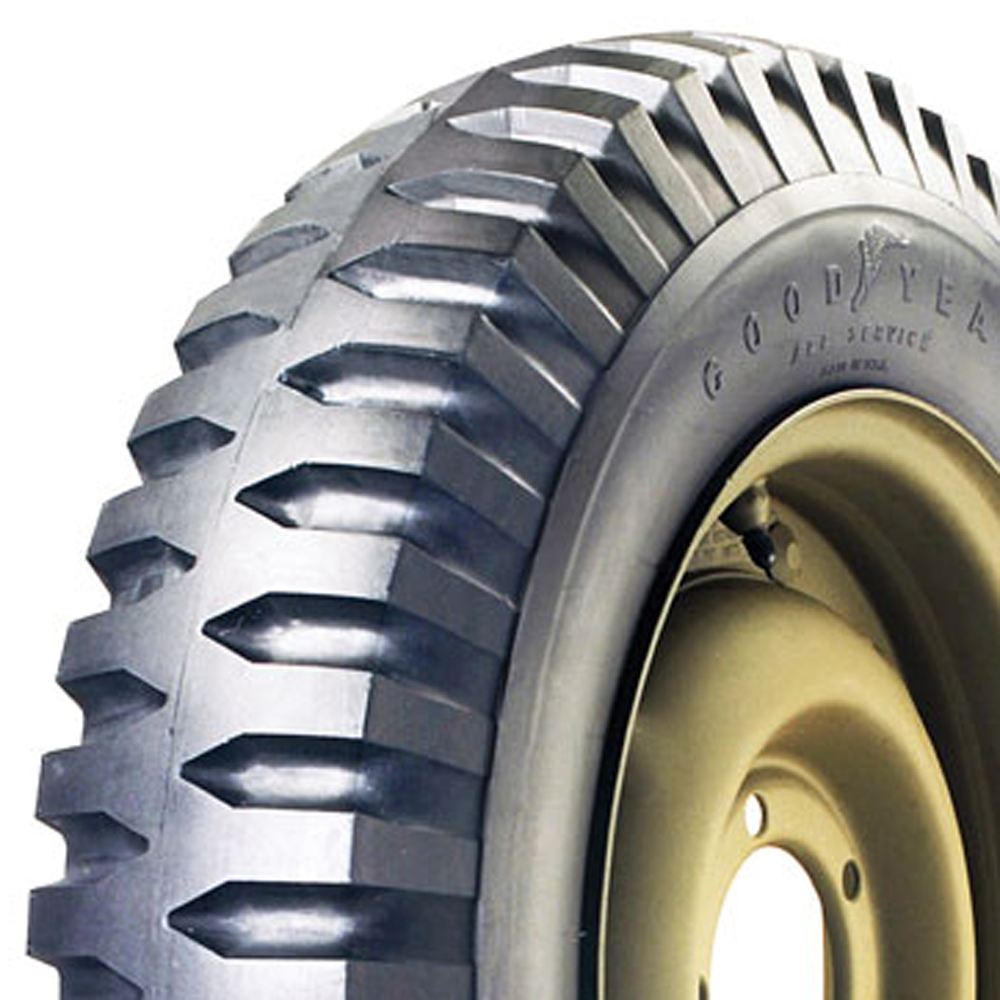 Goodyear Antique Tires NDT Military Tire Classic / Vintage / Military - 600-16 6 Ply