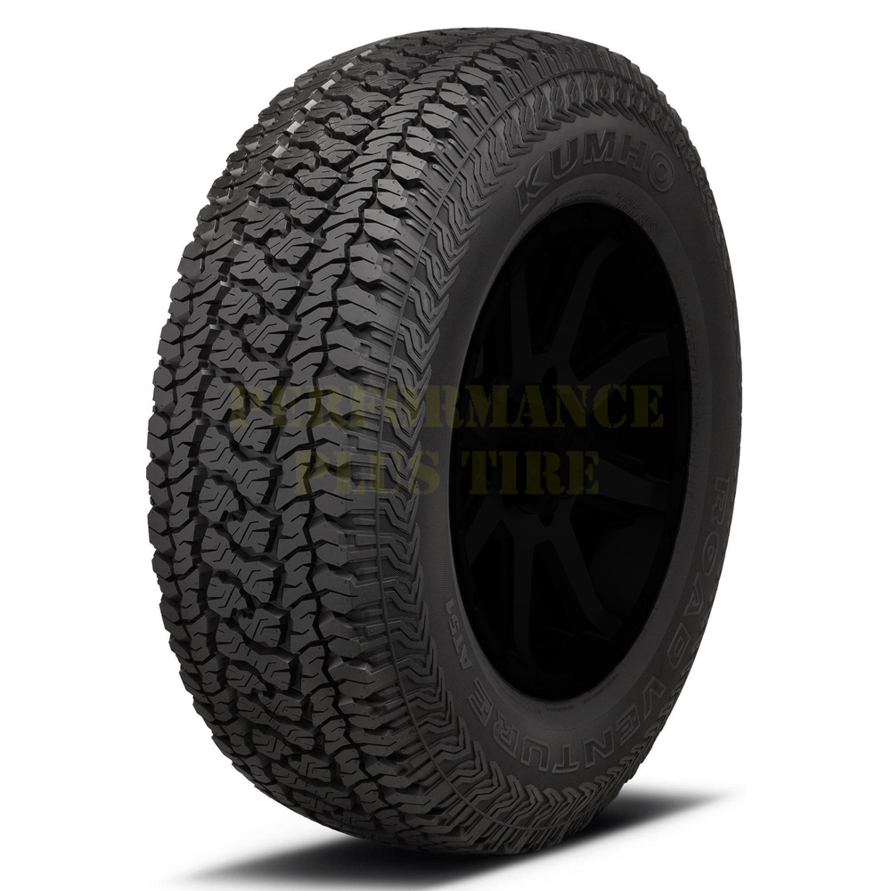 Kumho Tires Road Venture AT51 Light Truck/SUV All Terrain/Mud Terrain Hybrid Tire - LT215/75R15 106/103R 8 Ply